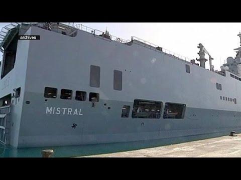 Ακυρώθηκε επισήμως η πώληση δύο πολεμικών σκαφών από τη Γαλλία στη Ρωσία