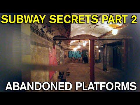 Subway Secrets part 2 - Abandoned Platforms - D on the F line
