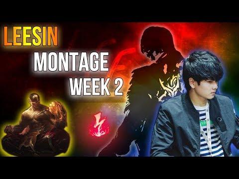 Leesin Shock Điện, An Toàn Và Hiệu Quả | Leesin Montage Tuần 2 l Gầy Best Leesin - Thời lượng: 10 phút.