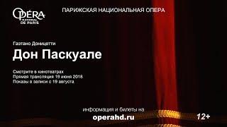 Дон Паскуале. Спектакль в кинотеатре. Парижская опера (суб.)