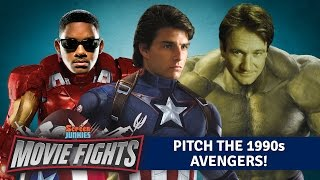 Pitch The 1990s Avengers! - WEIRD MOVIE FIGHTS!! by Screen Junkies
