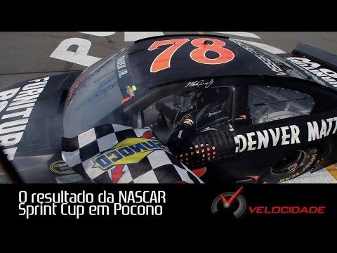 O resultado da NASCAR Sprint Cup em Pocono - Alta Velocidade 08/06/2015
