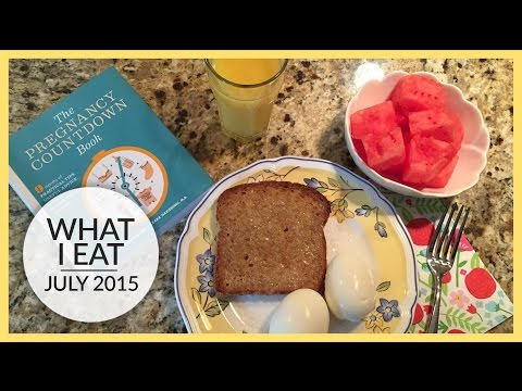 What I Eat | Pregnancy Edition | Late 1st & Early 2nd Trimester
