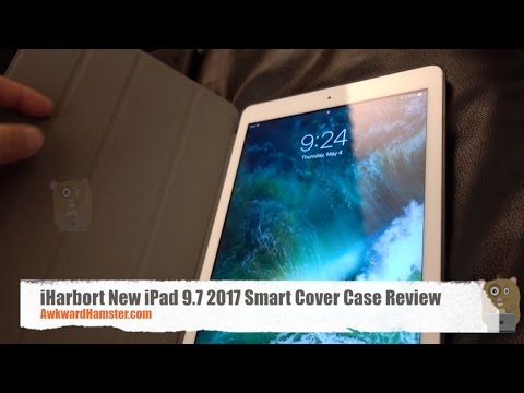 iHarbort New iPad 9.7 2017 Smart Cover Case Review