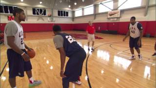 The 'Tips, Skills, Drills' series continues with a lesson on the Pick and Roll from P.J. Carlesimo, with help from NBA stars Paul George, Anthony Davis and Kyrie ...