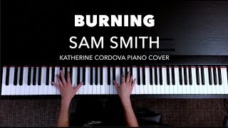 Sam Smith - Burning (HQ piano cover)