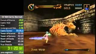 Castlevania N64 Speedrun - Carrie (Normal) - 46:05