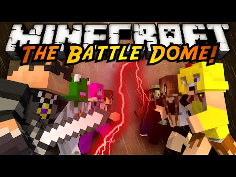 Battle - IT'S A BATTLE TO THE DEATH, TRAPPED IN A DOME YOUR TEAM MUST GATHER SUPPLIES AND TRY AND TAKE THEM DOWN! MY TEAM! http://www.youtube.com/user/kermitplaysminecraft http://www.youtube.com/user/munch...