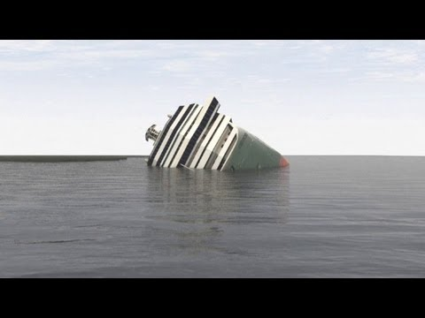 costa concordia - More than a year after the Costa Concordia sank, a major salvage operation is underway to stabilize the wreck before floating it and towing it to a port for ...
