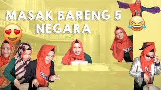 Video MASAK BARENG 5 NEGARA | SAJIDAH HALILINTAR COOKING STYLE | BUBUR SUMSUM MP3, 3GP, MP4, WEBM, AVI, FLV Oktober 2017