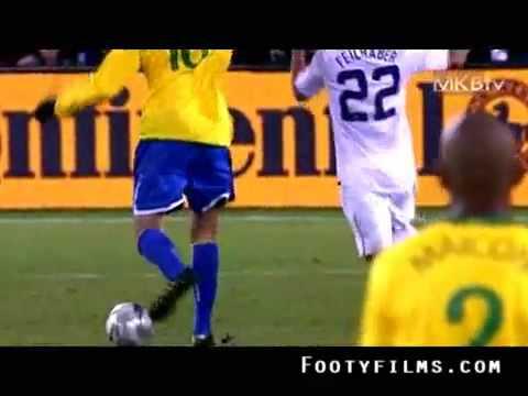 los mejores momentos de kaká en la copa confederaciones 2009