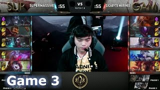SUP vs GAM Game 3 2017 Lol eSports Mid-Season Invitational/Play-In lol. MSI 2017 GAM vs SUP G3 VOD. 2017 MSI full playlist: http://bit.ly/MSI-2017 League of Legends Season 7 Mid-Season Invitational Play-In in Brazil - Round Robin.Third match of the day - SuperMassive vs Gigabyte Marines best of 5 Game 3. SUP vs GAM.Patch: 7.8 - Season 7 Game date: 06.05.2017  05/06/2017  May 6th 2017Game place: BrazilCasters: Rusty and PyraThere are more playlists in the playlist section on the channel!You can always follow all games from both channels and news/updates on my FB page - facebook.com/EpicskillshotPlease like/share/comment and sub if you haven't yet - it helps a lot!Follow me on Twitter: www.twitter.com/epicskillshot