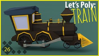 Let's Poly: Low Poly Train!