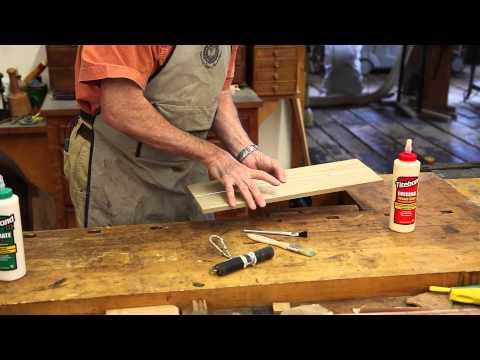 Wood Glue Basics and Application Tips