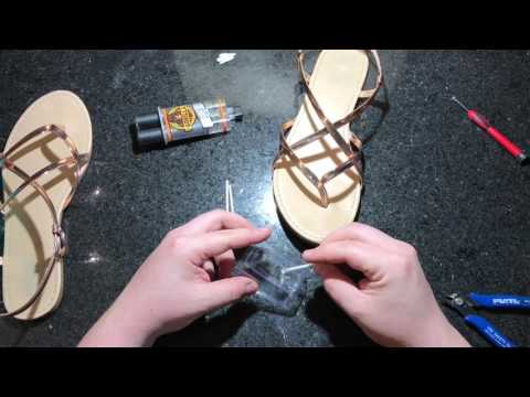 How to fix Sandals