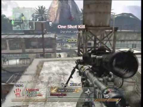 call fo duty MW2 sniper