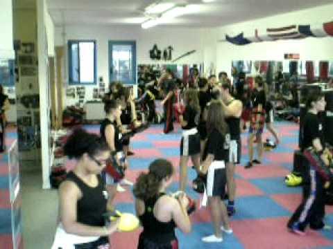 Allenamento palestra corso base 2010 team Collovigh