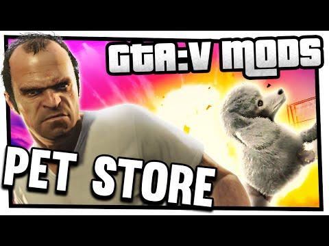 gta 5 real life mod pet shop