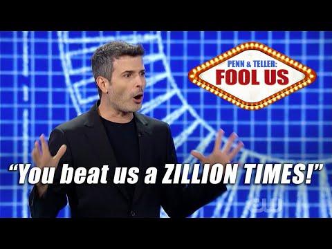 Magician REVEALS trick and still fools Penn & Teller!!! - Asi Wind on Penn & Teller: Fool Us