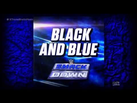 """WWE: """"Black and Blue"""" [iTunes Release] by CFO$ ► Smackdown NEW Theme Song"""
