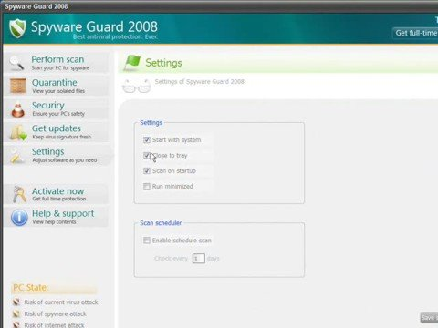 0 Spyware Guard 2008 Analysis and Removal