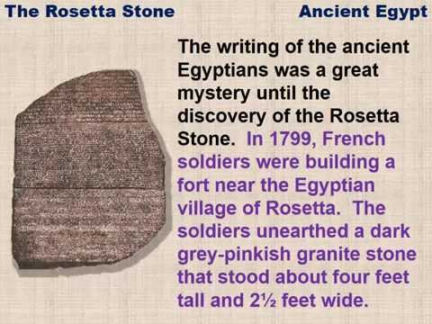 The Rosetta Stone A Reading Lesson For Kids