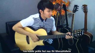 Chahun Main Ya Naa (Aashiqui 2) Nathan Fingerstyle Cover [ Aditya Roy Kapur, Shraddha Kapoor ] Video