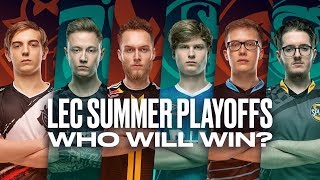 #LEC Summer Playoffs – Opening Tease by League of Legends Esports