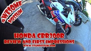 2. 2015 Honda CBR300R First Ride and Review