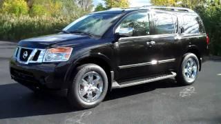 2011 Nissan Armada  Review&Test Drive Platinum Edition