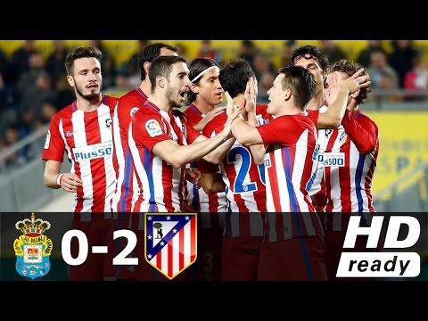 Las Palmas vs Atlético Madrid 0-2 All Goals & Extended Highlights HD ~ Copa del Rey 3/1/2017