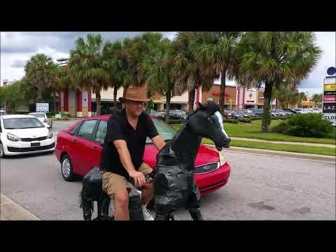 Orlando Horse Bike Riding by Rodger Cleye near UCF