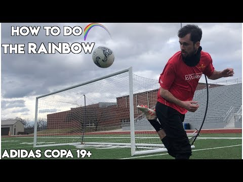 HOW TO DO THE RAINBOW  | HONEST Copa 19+ Boot Review | Futbol Emotion