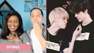 COMPILATION OF EXO BEING PERVERTS REACTION (EXO REACTION)
