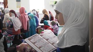 Первый республиканский конкурс чтецов Корана среди женщин