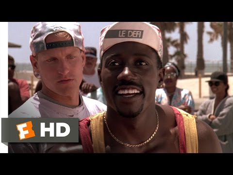 White Men Can't Jump (1/5) Movie CLIP - Slow, White, Geeky Chump (1992) HD