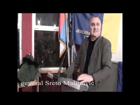 Генерал Срето Малиновић о Драгану Шутановцу