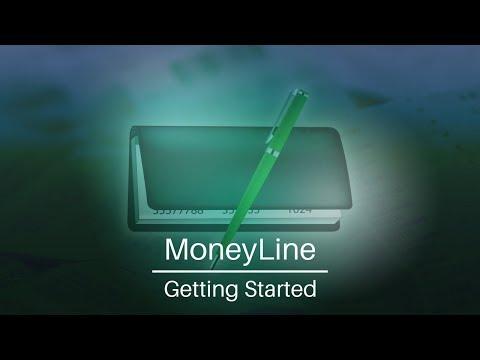 MoneyLine Personal Finance Software | Getting Started