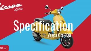 4. Vespa GTS 150 - Vespa GTS 300 Spec Indonesia