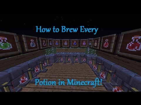 Minecraft – How to Brew Every Potion 1.7.10