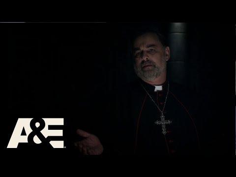 Damien: Sister Greta Warns That Damien is a Real Threat (Season 1, Episode 5) | A&E