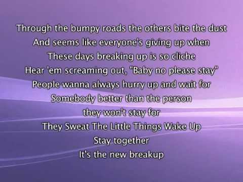Jennifer Lopez – Stay Together, Lyrics In Video