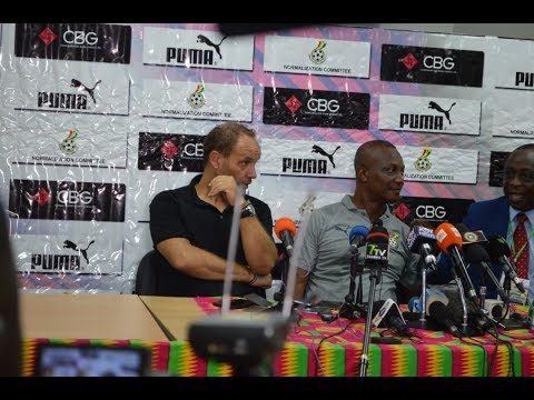 GHANA VS KENYA- KWESI APPIAH AND SEBASTIAN MIGNE SPEAK AFTER GAME
