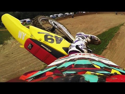 Brawl - New Jersey's own whipster Andrew Maroney shows us a first look at the intense Baja Acres track during Friday's practice sessions in Millington, Michigan. While he shows off his impressive whips,...
