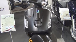 8. Piaggio Vespa GTS Super Sport 300 IE Exterior and Interior