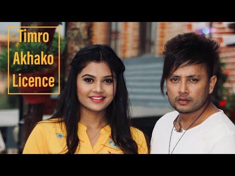 (Timro Aankhako License Banau Priya Ft. Durgesh Thapa Juna Sundas || Bishnu Thapa Sargam - Duration: 5 minutes, 19 seconds.)
