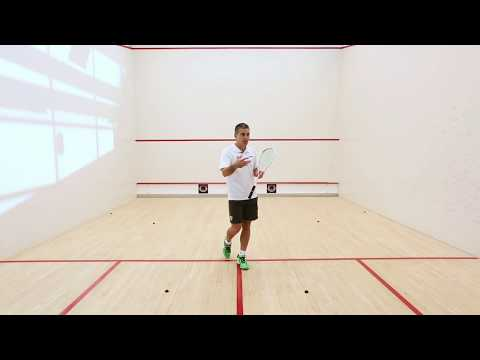 Squash tips: 1,2,3 movement exercise with Thierry Lincou