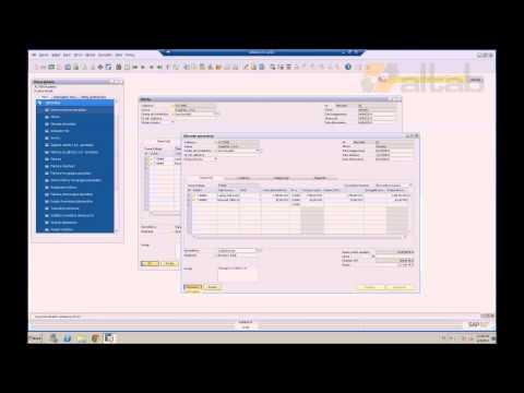 SAP Business One - od oferty do faktury - proces sprzedaży