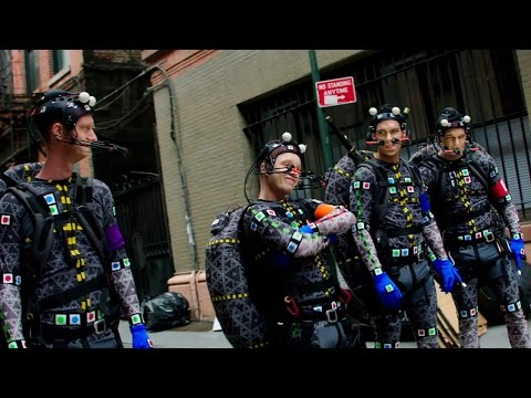 Teenage Mutant Ninja Turtles: Out of the Shadows (Featurette 'Motion Capture')