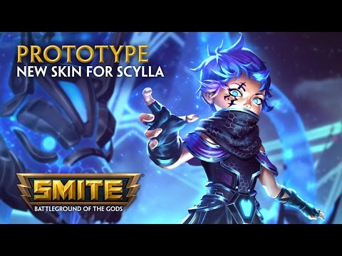 SMITE — New Skin for Scylla — Prototype